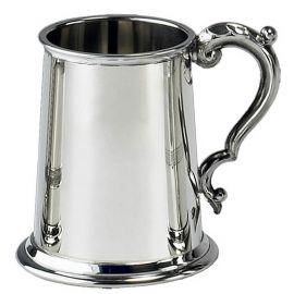 BT440 Classic English Pewter Tankard: click to enlarge